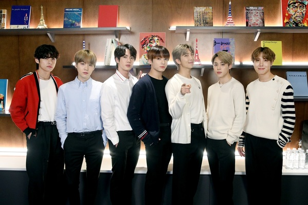 South Korean boy band BTS launches 'Connect, BTS' art exhibition with 22 artists