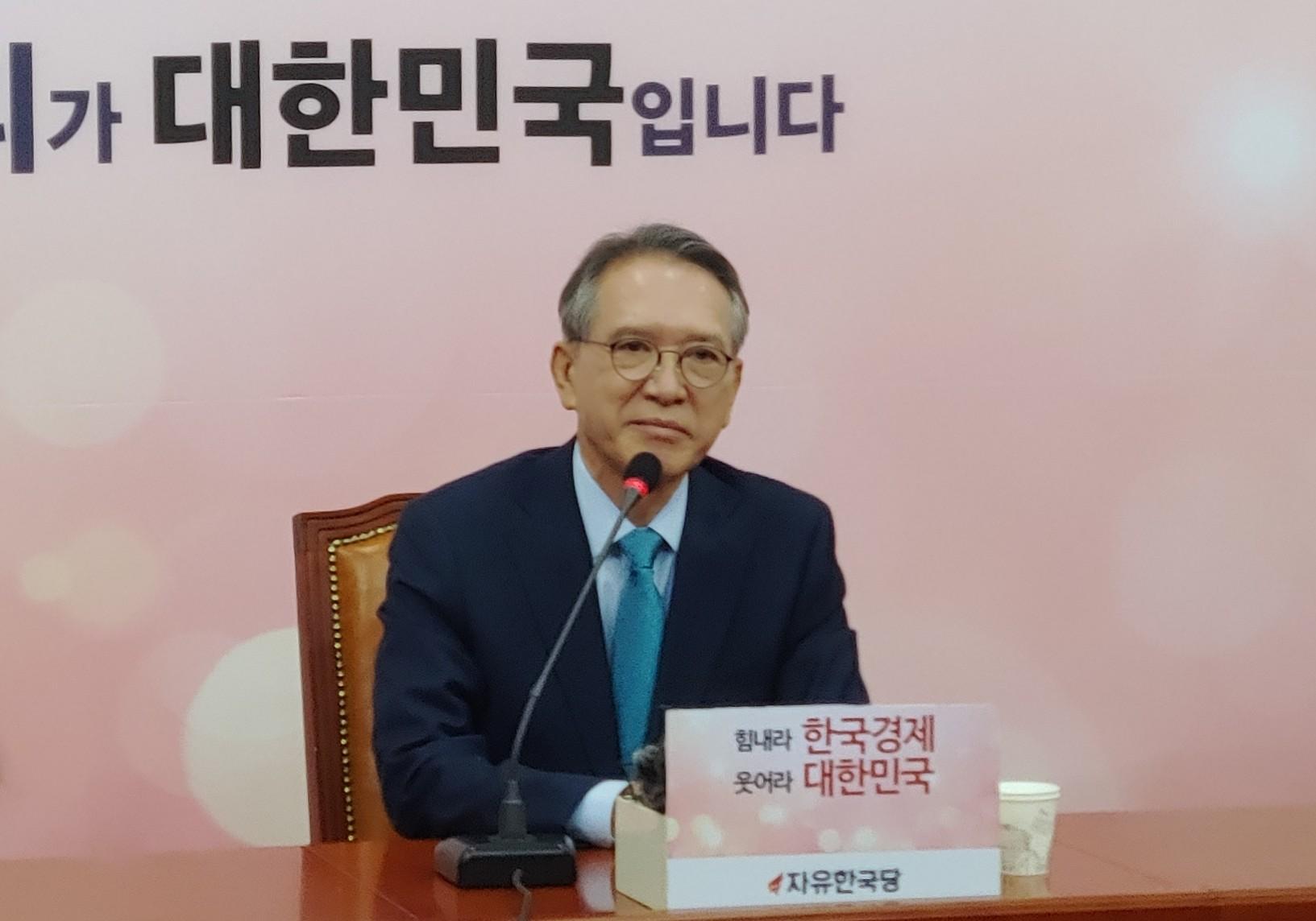 자유한국당 김형오 공관위원장 <사진=tbs>