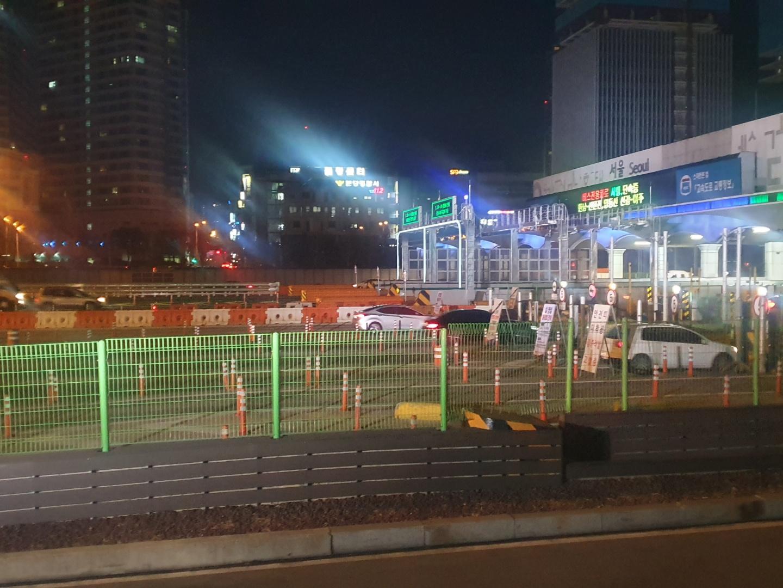 서울요금소 <사진=tbs>