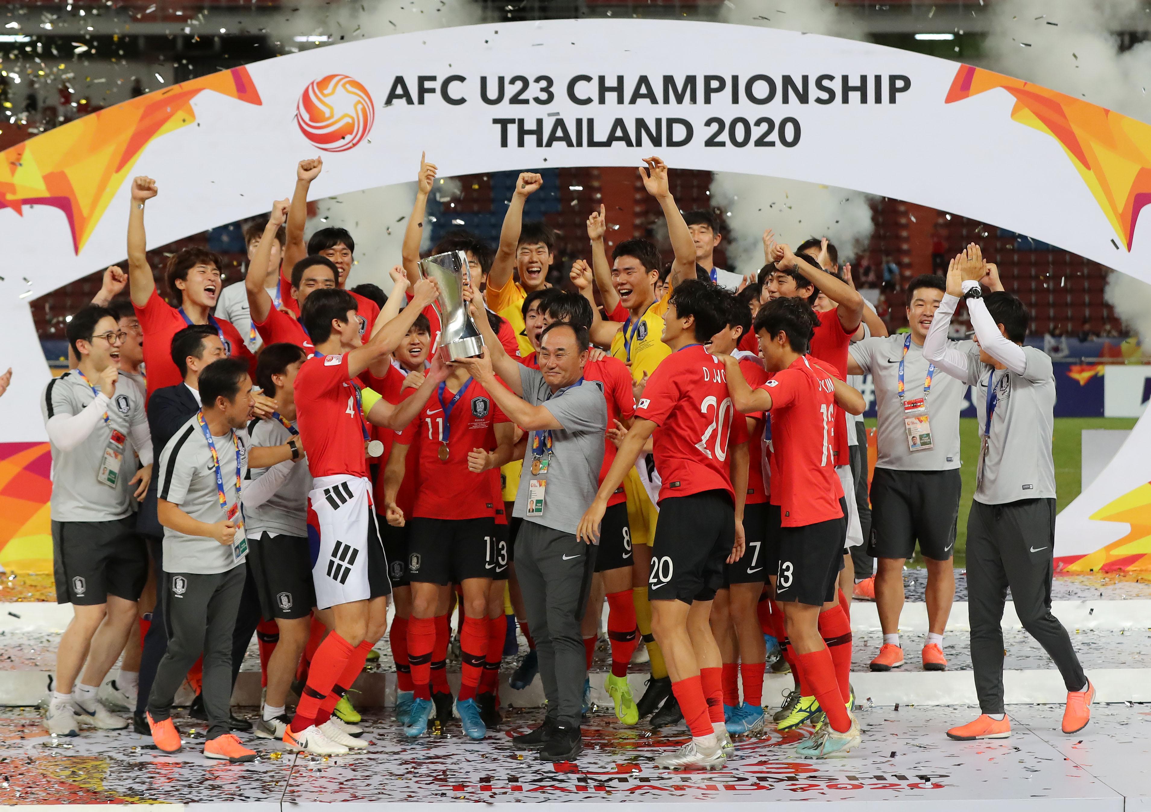 아시아축구연맹 23세 이하 챔피언십 우승