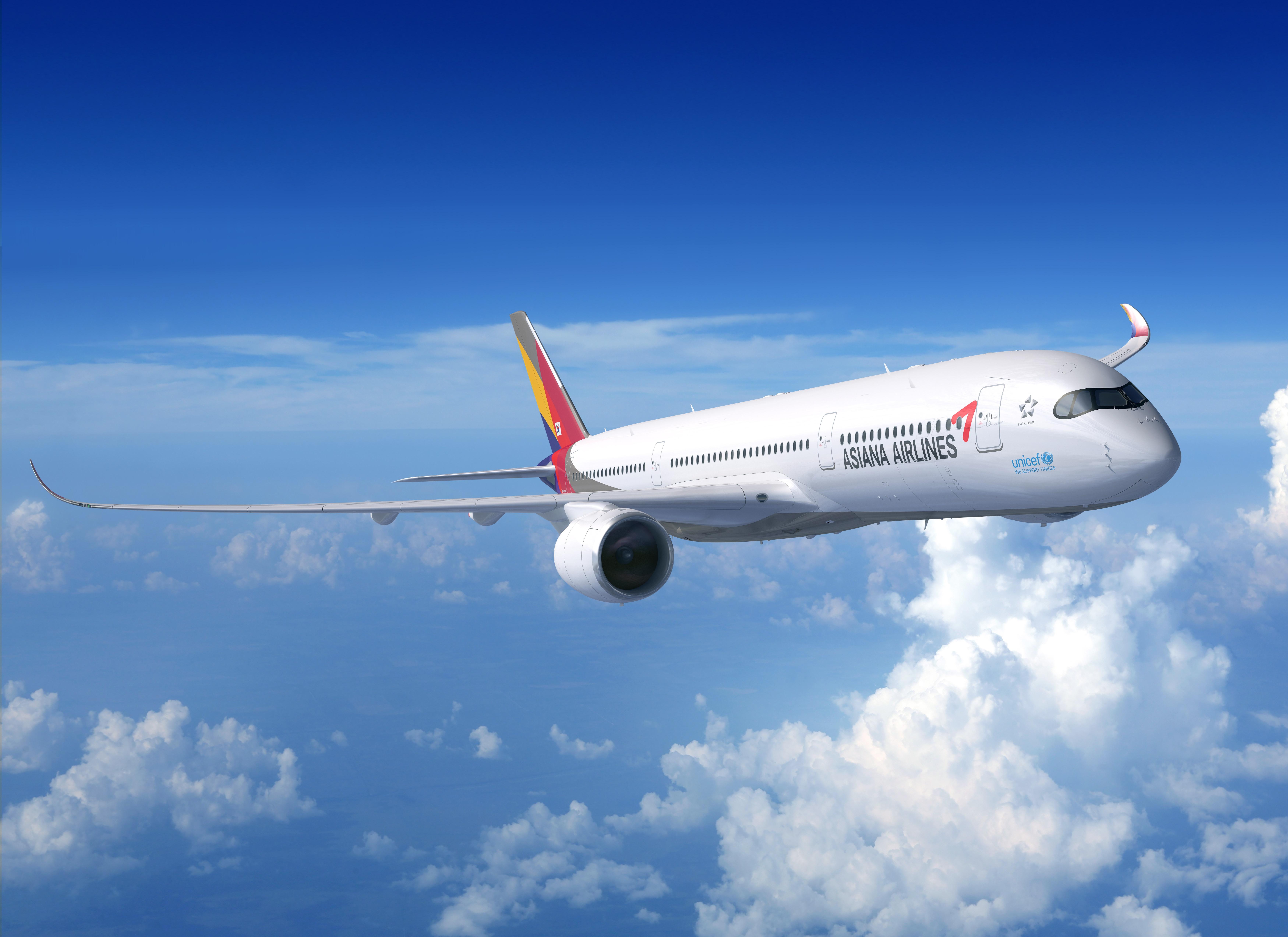 아시아나항공 항공기<사진=아시아나 항공>