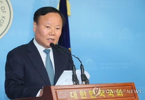 자유한국당 김재원 정책위의장