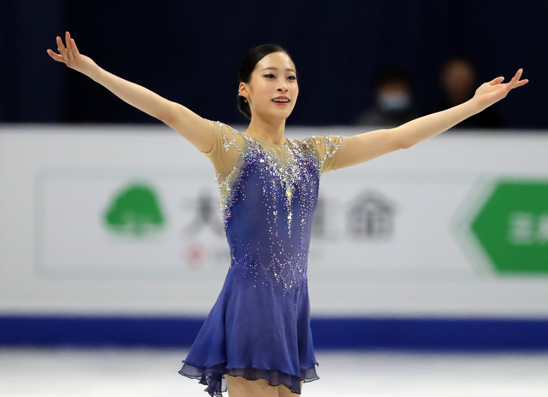 South Korean figure skater You Young