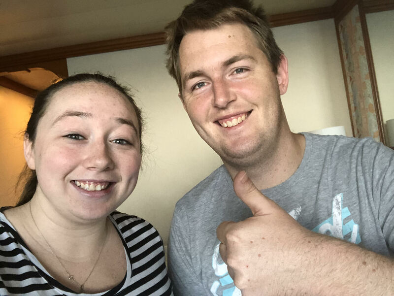 Jess and Matt Ellem from Adelaide, Australia
