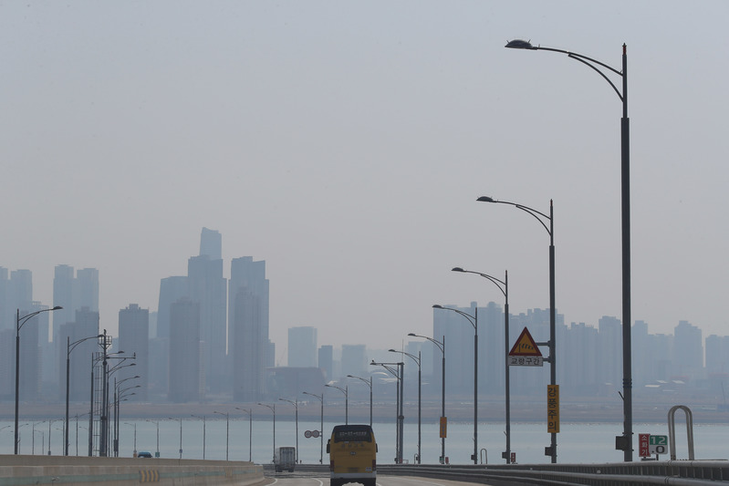 Bad levels of fine dust blankets the nation