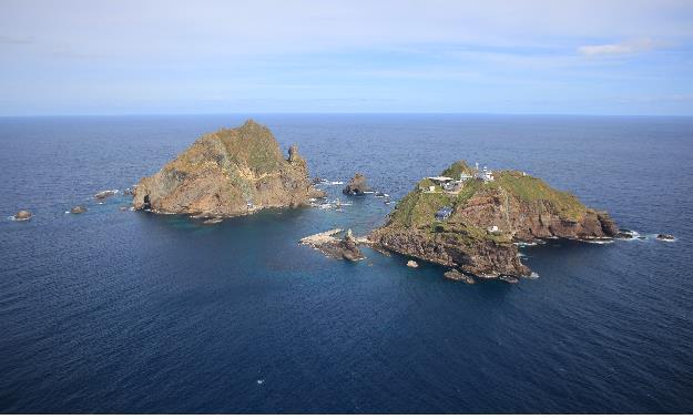 Easternmost islets of Dokdo