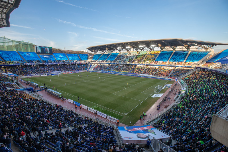 Suwon World Cup Stadium where last year's season opener was held