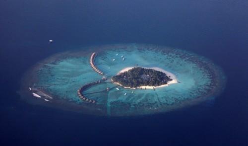 몰디브의 한 리조트