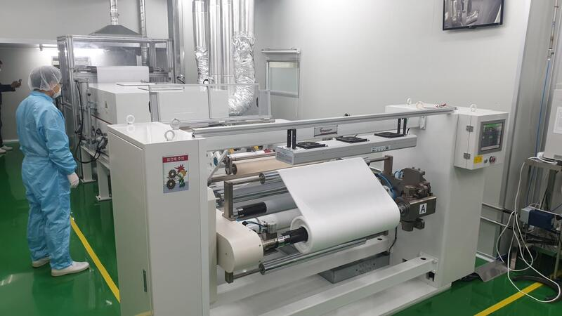 production of mask filters