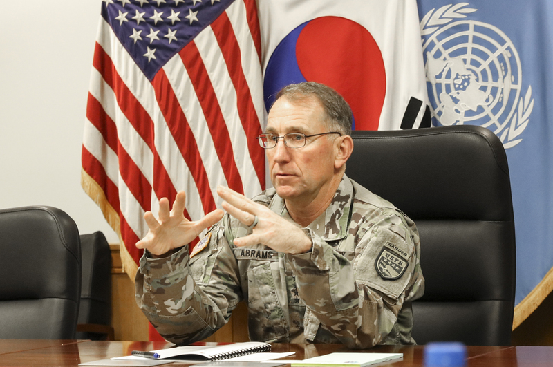 USFK Commander General Robert Abrams