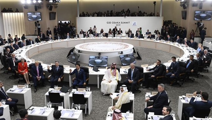 G20 Osaka Summit in 2019