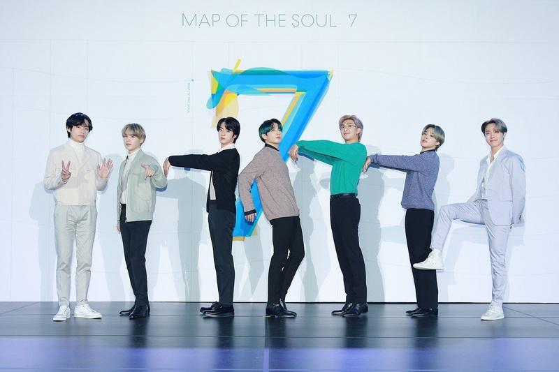 Global sensation BTS