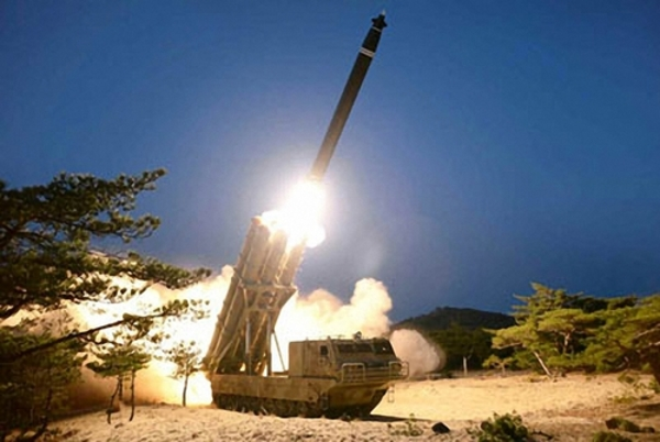 N. Korea reports it tested super-large multiple rocket launchers