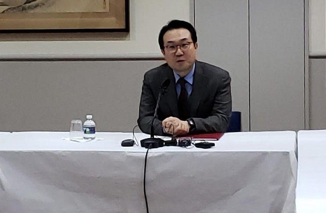 South Korea top nuclear envoy Lee Do-hoon