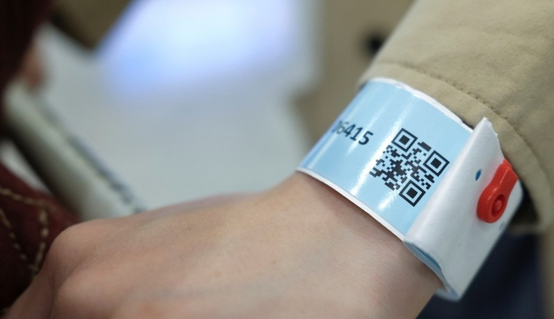 Tracking wristbands in Hong Kong