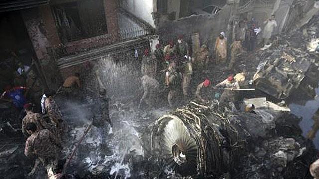 파키스탄 여객기 사고