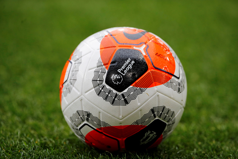 English Premier League match ball