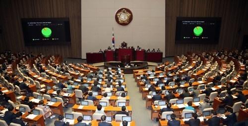 국회 본회의 장면