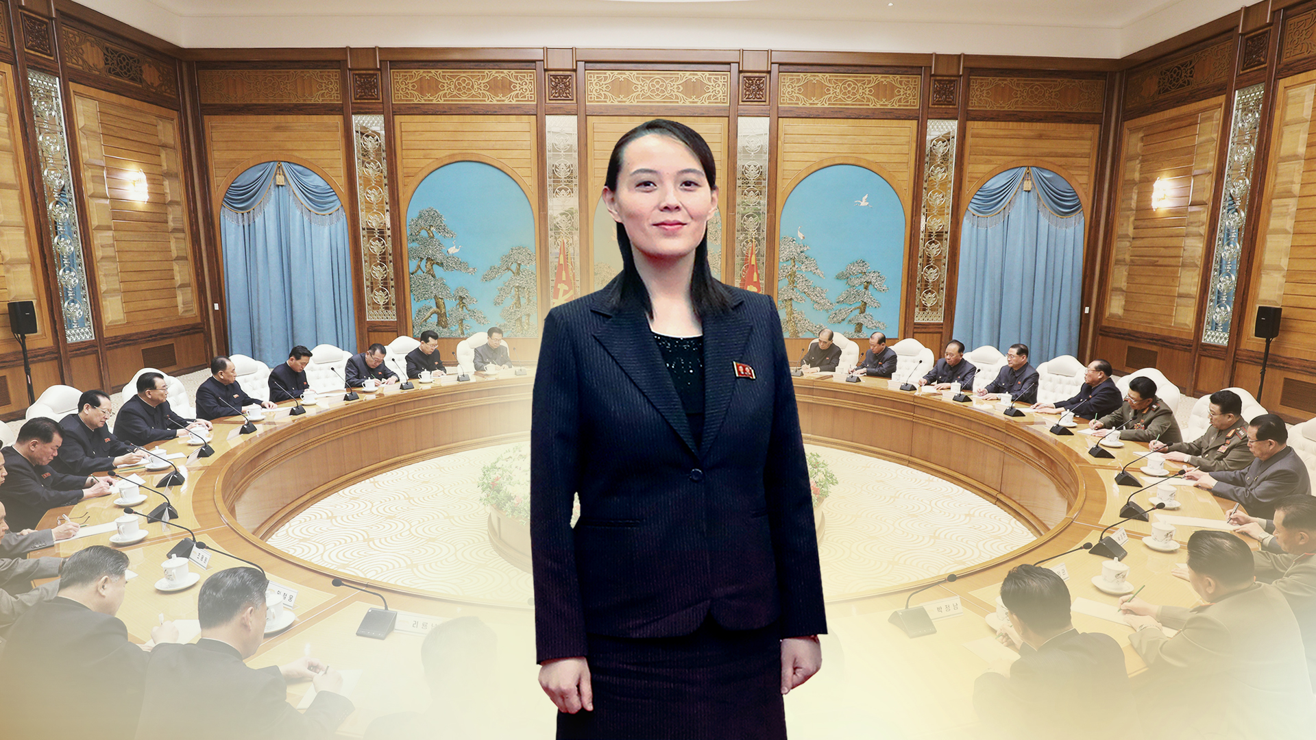 North Korean leader Kim Jong-un's sister, Kim Yo-jong