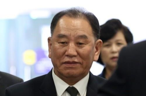 Kim Yong-chol, a senior North Korean ruling party official