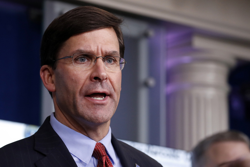 U.S. Secretary of Defense Mark Esper