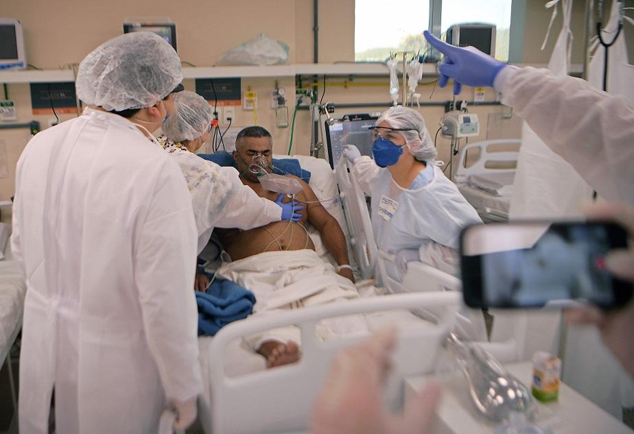 브라질의 한 병원