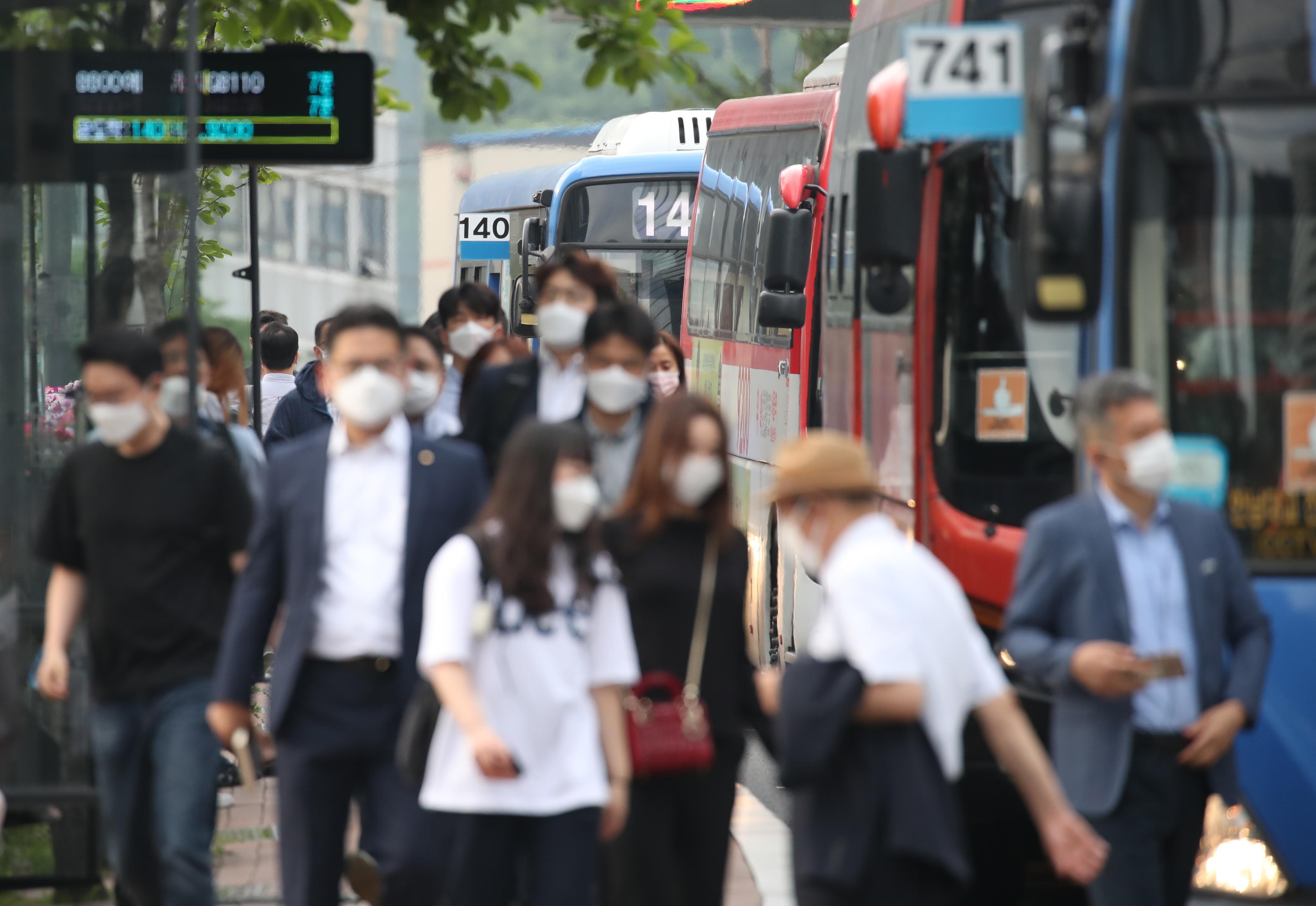 대중교통 마스크 착용 의무화