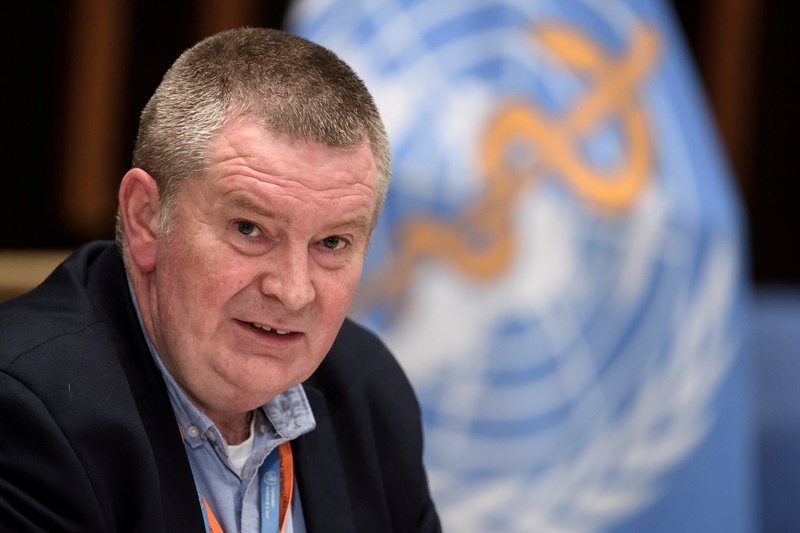 Dr. Michael Ryan, Executive Director, WHO Health Emergencies Programme