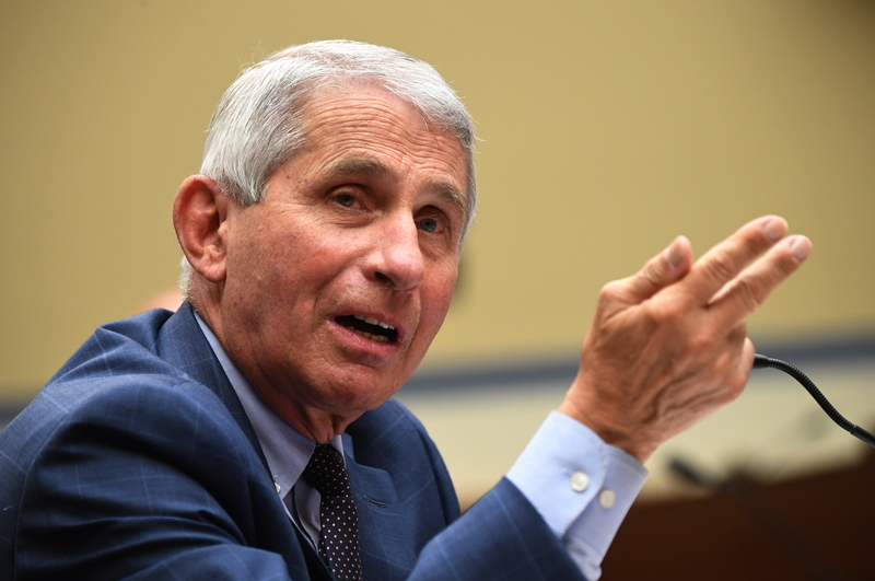 Dr. Anthony Fauci, director of the National Institute for Allergy and Infectious Diseases, speaks during a House Subcommittee on the Coronavirus Crisis hearing, on Capitol Hill in Washington, D.C., on July 31, 2020.