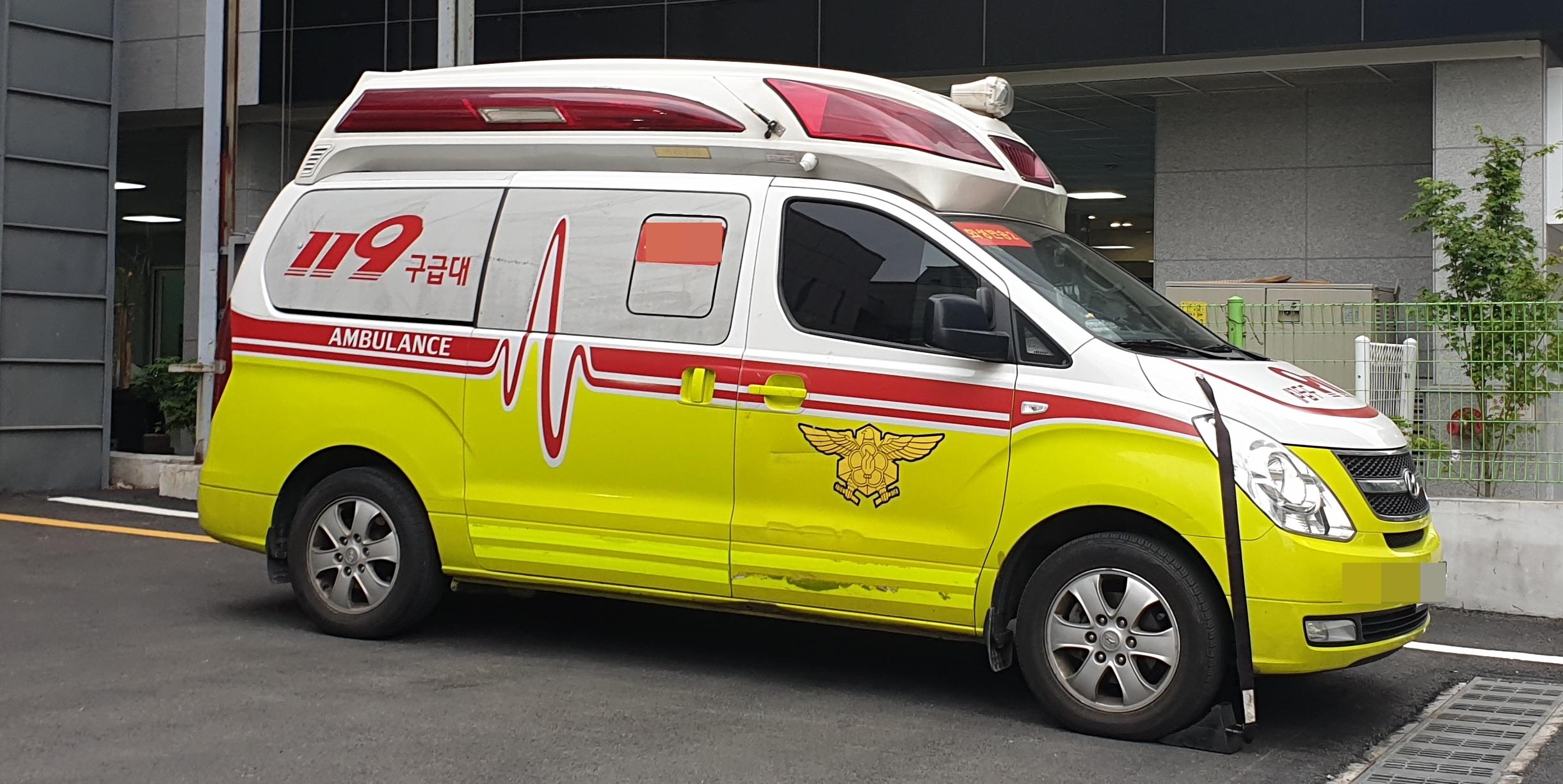 119 구급차, 병원 이송