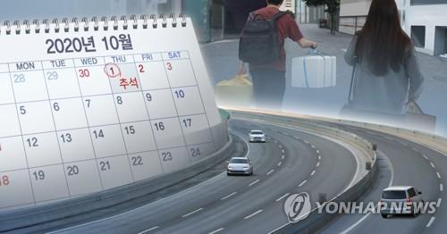추석 연휴 거리두기, 이동 최소화