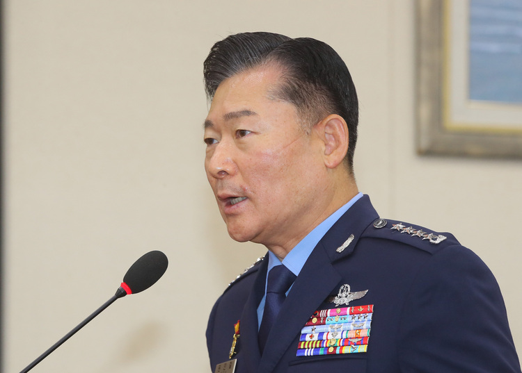 Air Force General Won In-chul