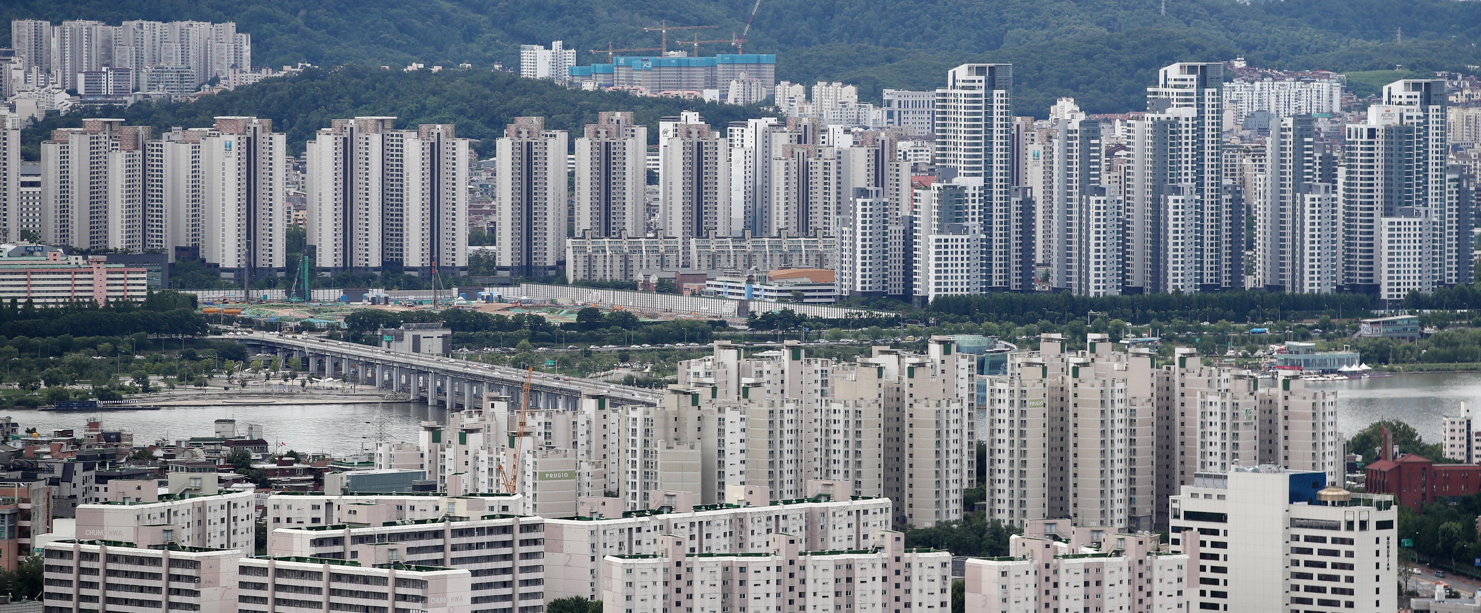 서울 아파트 전경
