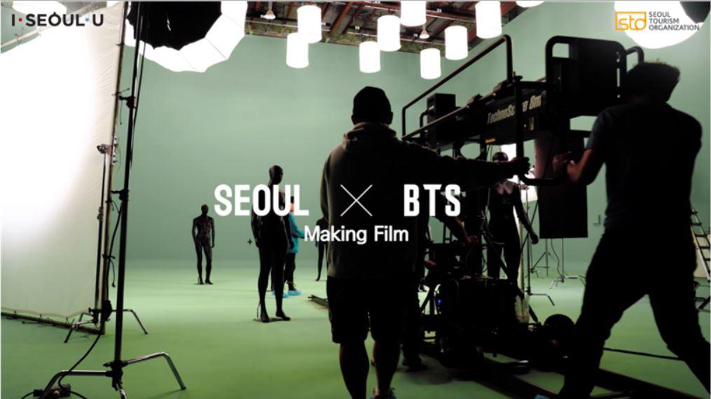 BTS의 서울시 홍보영상 메이킹필름