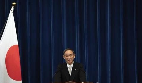 스가 요시히데 일본 총리
