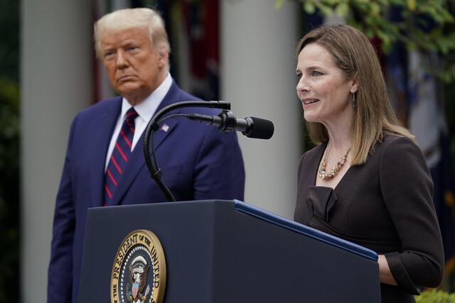 에이미 코니 배럿 미국 연방대법관 후보