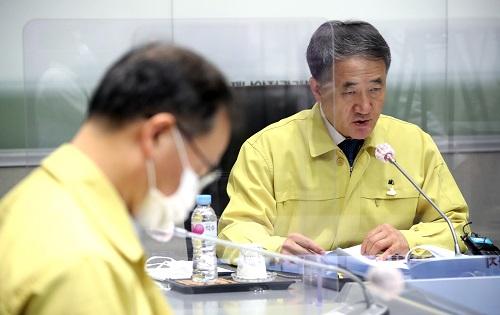 박능후 중앙재난안전대책본부 1차장