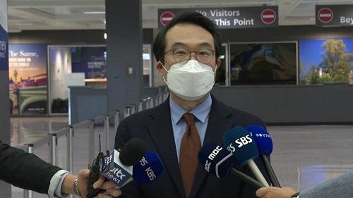 이도훈 외교부 한반도평화교섭본부장