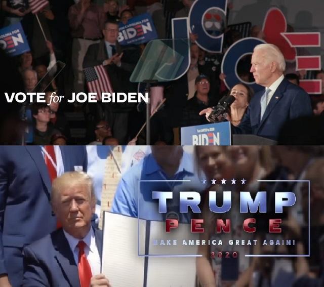 2020 미국 대선 선거 광고