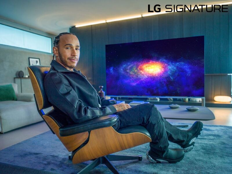 Formula One champion Lewis Hamilton become the latest to join LG Electronics' roster of brand ambassadors.