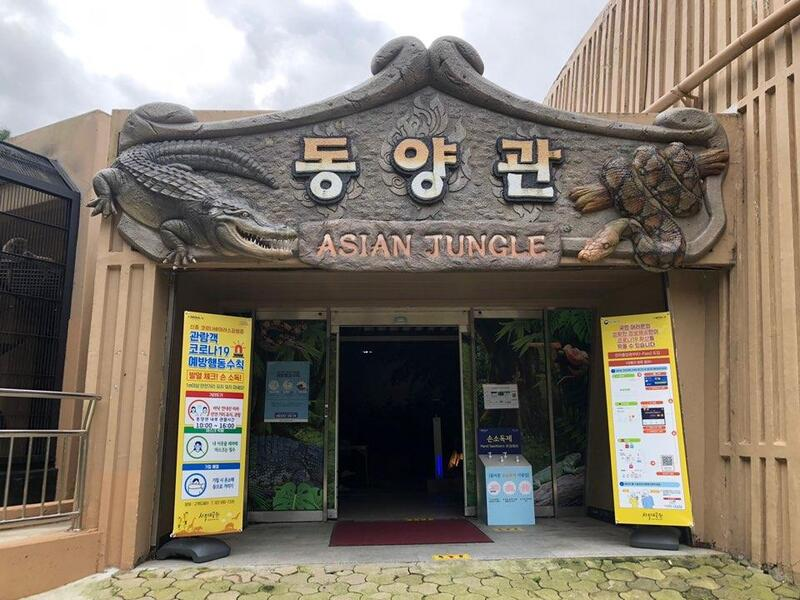 The Asian Jungle exhibit at Seoul Grand Park Zoo will reopen to the public starting Saturday with special measures to prevent the spread of COVID-19.