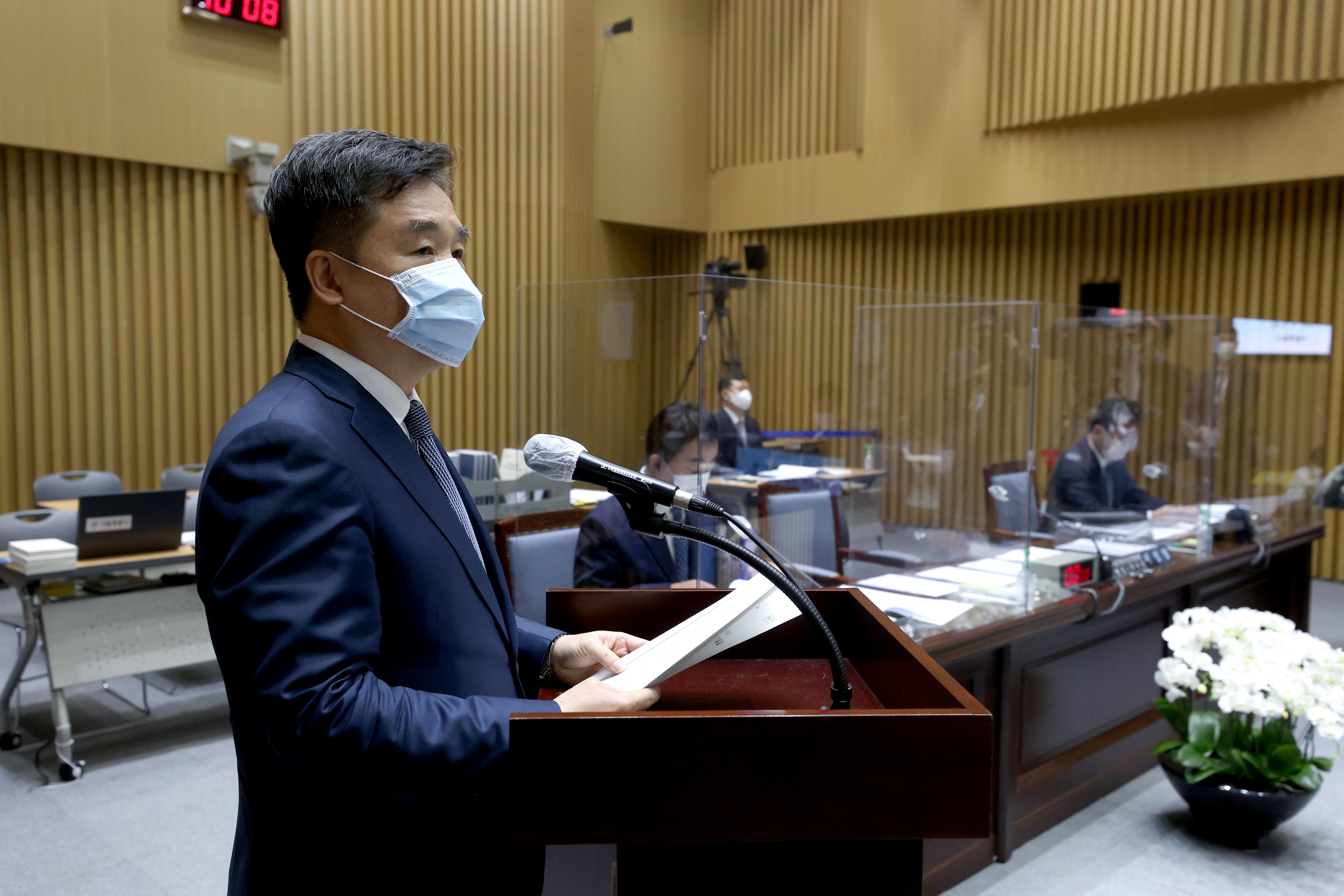 국정감사 출석한 서정협 서울시장 권한대행