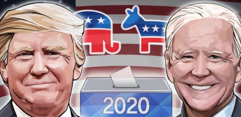 트럼프 대통령 - 조 바이든 전 부통령