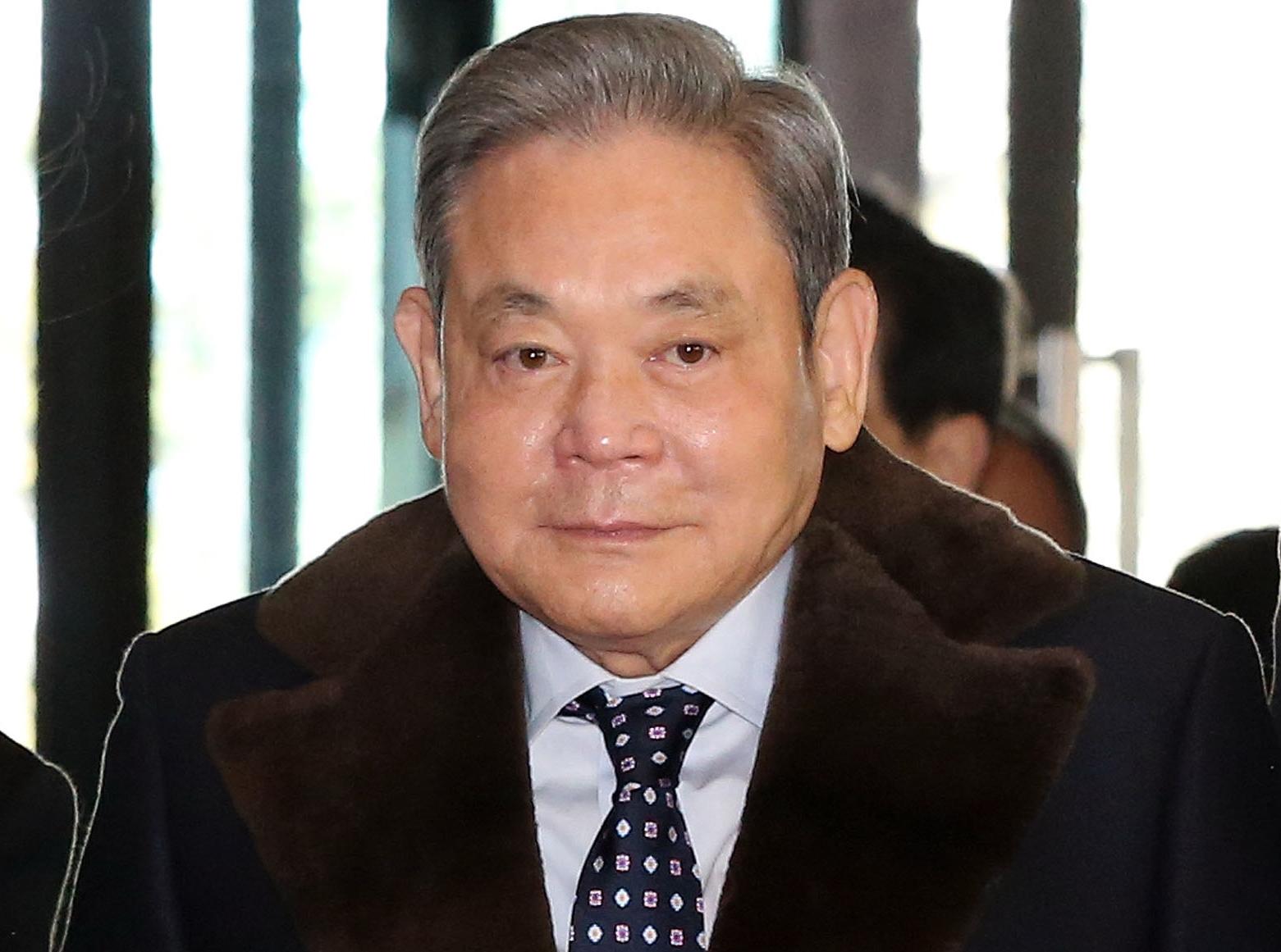 이건희 삼성그룹 회장