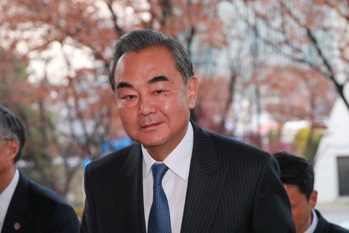 Chinese Foreign Minister Wang Yi (Photo: Yonhap News)
