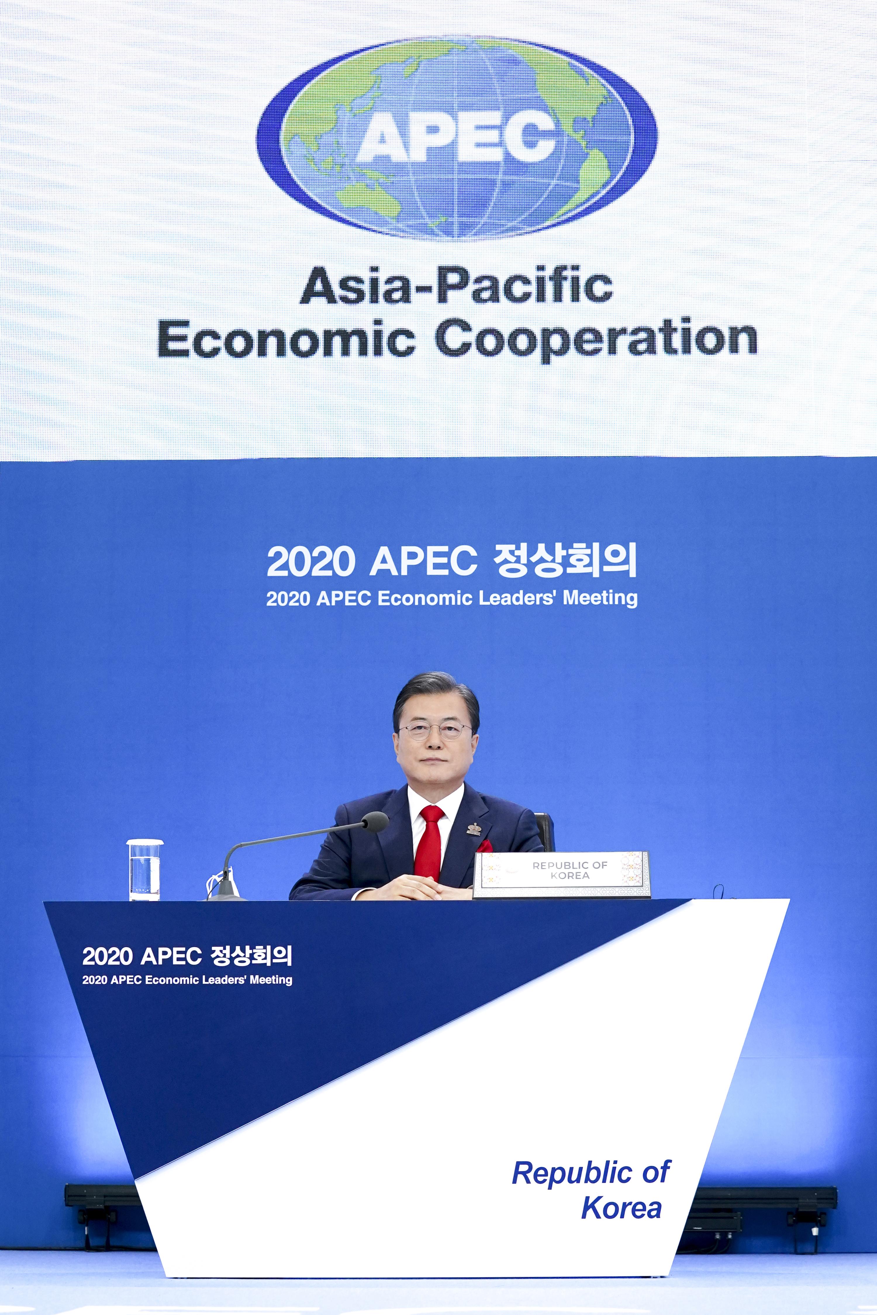 APEC 정상회의 참석한 문재인 대통령