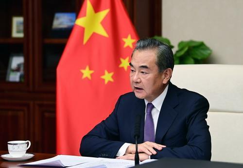왕이(王毅) 중국 외교담당 국무위원 겸 외교부장