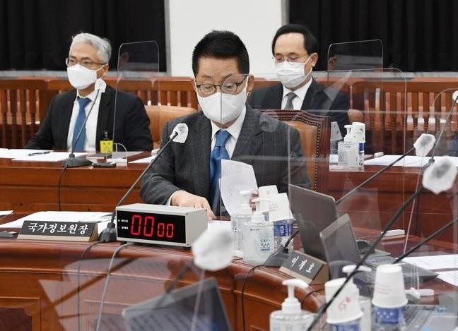 11월 30일 국회 정보위원회 전체회의