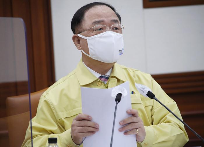 Finance Minister Hong Nam-ki (Photo: Yonhap News)