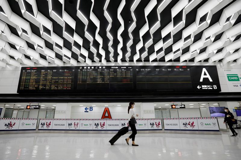 외국인 신규 입국 일시정지 이후 일본 공항